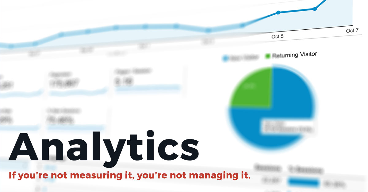 Google Analytics Radcliffe & Co.